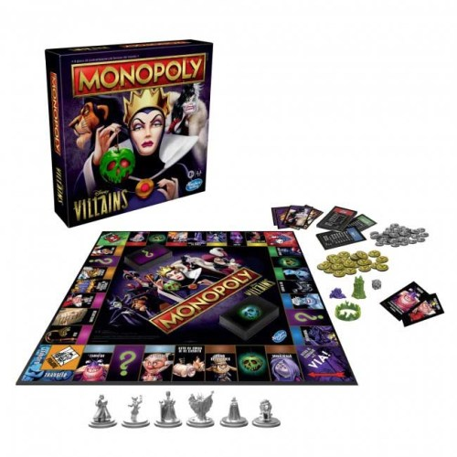 Monopoly Villains Disney