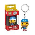 Pocket Pop Keychain USA Homer The Simpsons