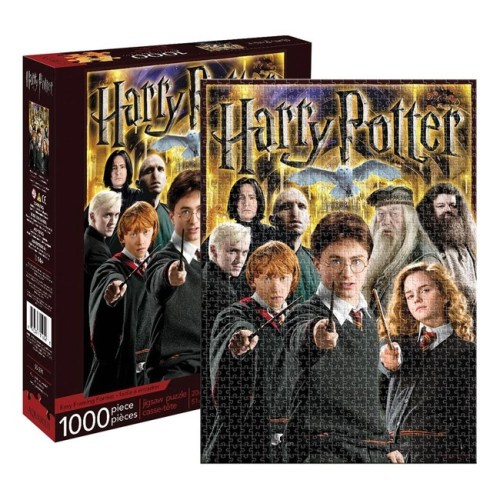 Puzzle Harry Potter Collage Personaggi 1000 pz