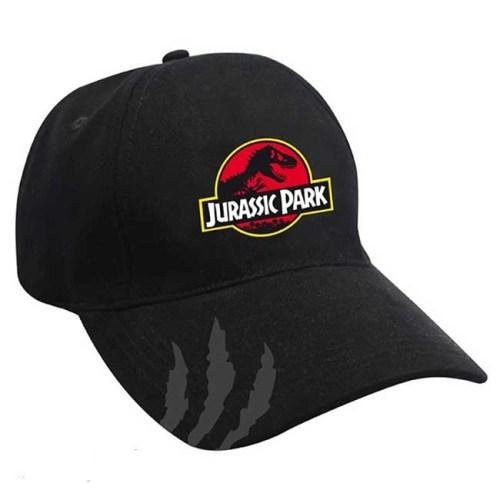 Cappello regolabile con visiera stampata Jurassic Park