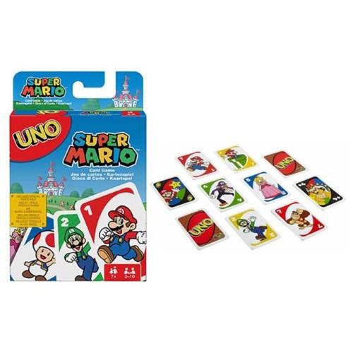 Carte UNO Super Mario