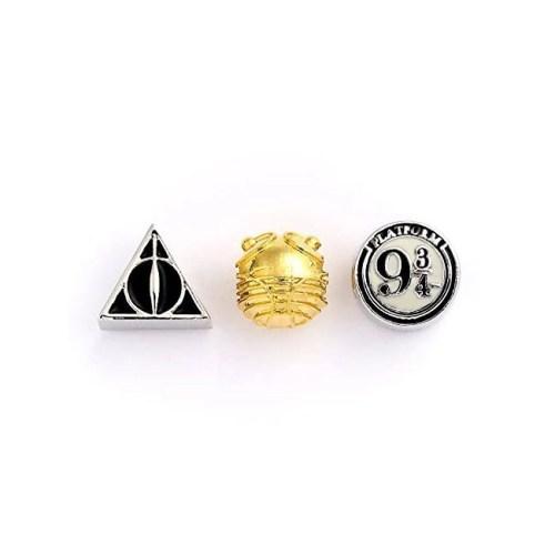 Charm set Beads Doni della morte Boccino d'oro e Platform 934