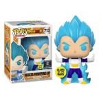 Funko POP Vegeta Powering Up SS Blu glow in the dark 713 special edition Dragon Ball