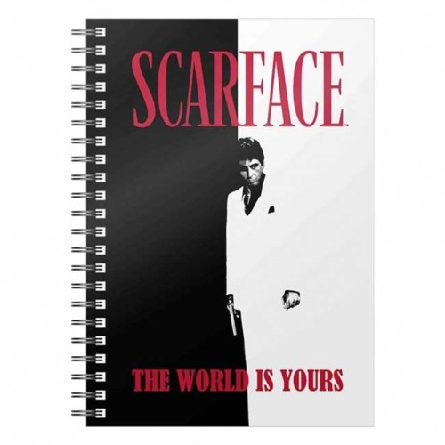Notebook con anelli Scarface