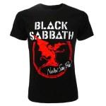 T-Shirt Black Sabbath stampa grande