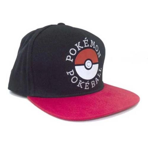 Cappello con Visiera Pokemon Pokeball