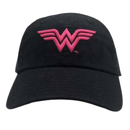 Cappello con Visiera Wonder Woman logo Fucsia