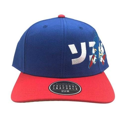 Cappello con Visiera regolabile Sonic