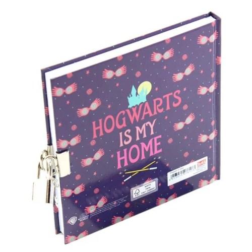 Diario Segreto Harry Potter Luna Lovegood 14x14cm