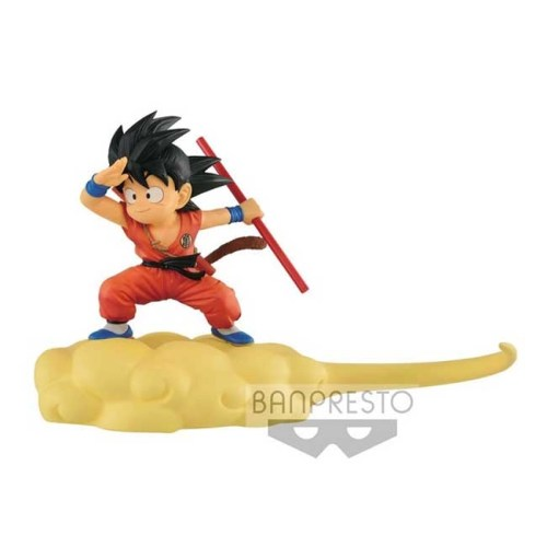 Figure Goku nuvola speedy tuta arancione