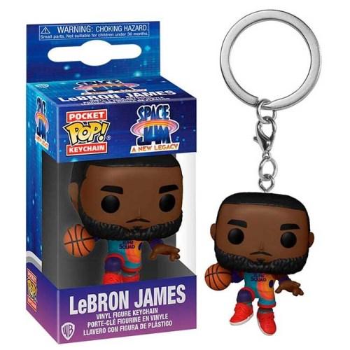 Funko POP Keychain portachiavi LeBron James Space Jam A new Legacy