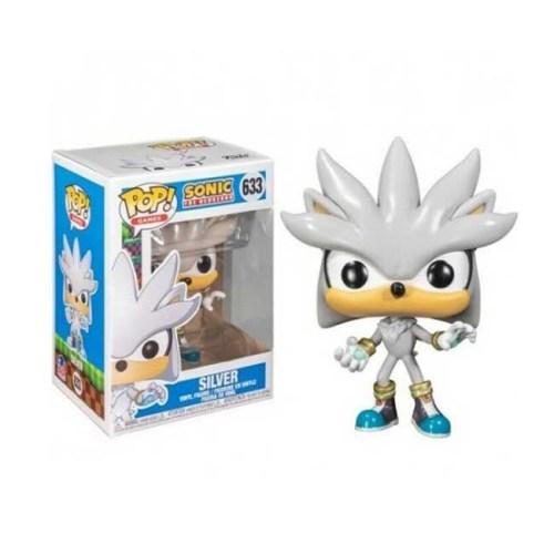 Funko Pop Silver Sonic The Hedgehog 633