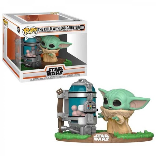 Funko Pop The Child with Egg Canister Star Wars 407