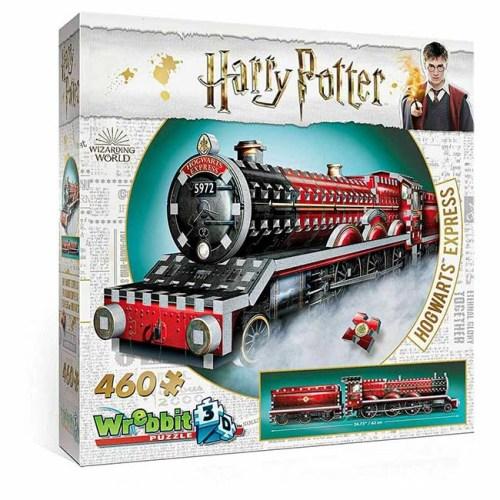 Hogwarts Express Harry Potter Puzzle 3D wrebbit 460 pz