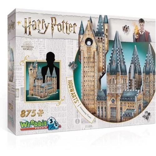 Hogwarts Torre di Astronomia Harry Potter Puzzle 3D wrebbit 875 pz