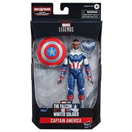 Action Figure Captain America The Falcon Winter Soldier Marvel Legend Series