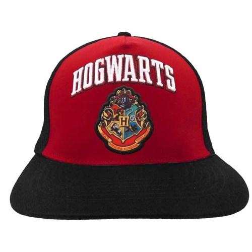 Cappello Harry Pottere Logo Hogwarts regolabile con retina posteriore