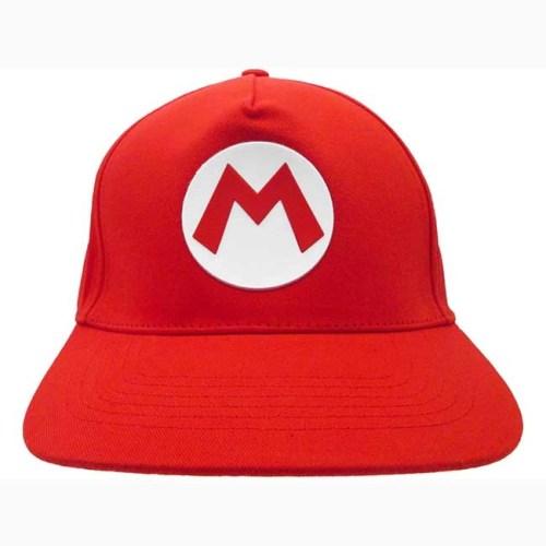 Cappello regolabile Nintendo Super Mario logo Mario