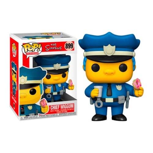 Funko POP Chief Wiggum Commissario Winchester 899 The Simpson
