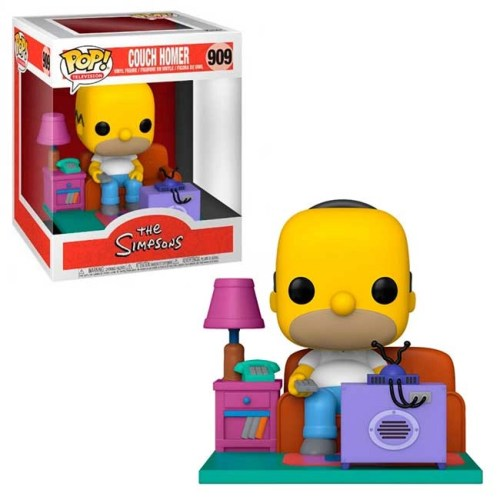 Funko POP Homer watching TV 909 Couch Homer The Simpson