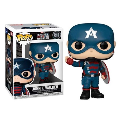 Funko Pop Jhon F Walker The Falcon and The Winter Soldier Marvel 811