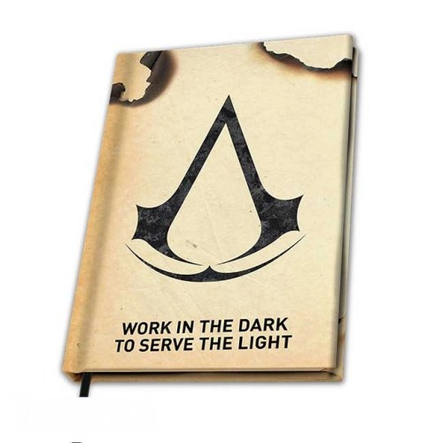 Notebook A5 Assassin Creed