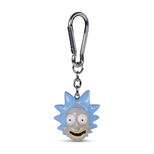 Portachiavi 3D Rick 4cm Rick e Morty
