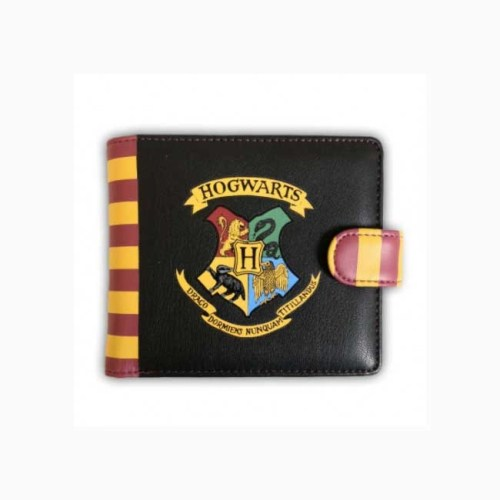Portafoglio Hogwarts Harry Potter Similpelle con bottone