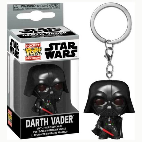 Star Wars Pocket Keychains Darth Vader 4 cm