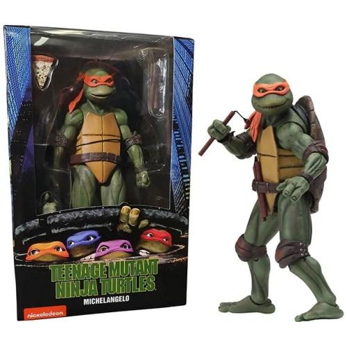 Action Figure Michelangelo Teenage Mutant Ninja Turtles Neca