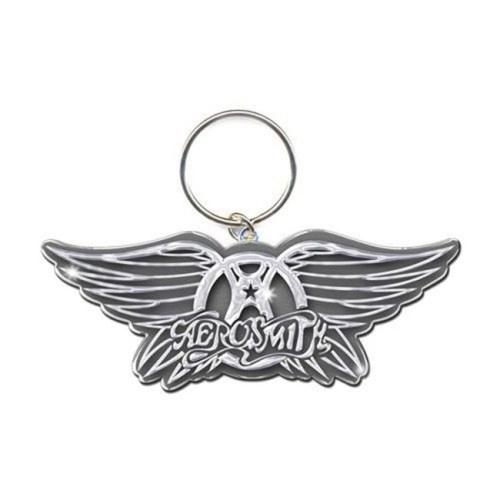 Portachiave Aerosmith in metallo