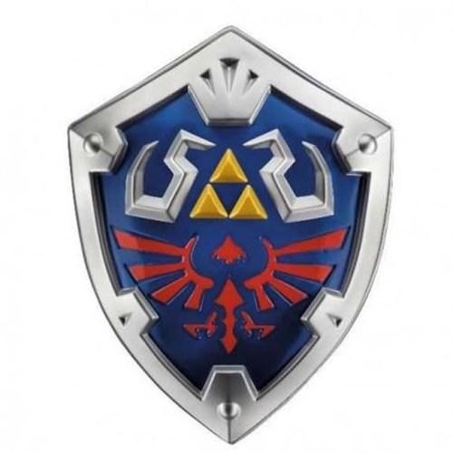 Scudo Legend of Zelda replica in plastica