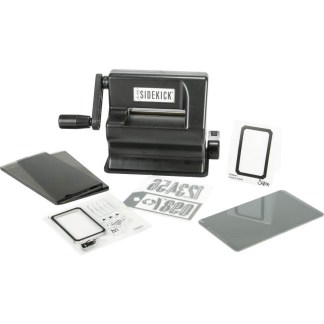 New Sizzix Sidekick Starter Kit (Black) featuring Tim Holtz Designs 8229 vistas•24 jun. 2019