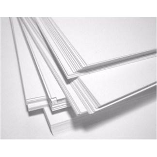 Papel Bond, 50 hojas, Tamaño Carta, 100 gr., color blanco.