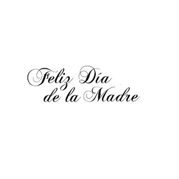 Sello  Feliz Dia de la Madre (en tamaño pequeño)