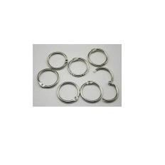 Set 4 argollas, 3,2 cms. diametro