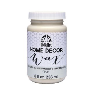 Clear Wax Cera Transparente Home Decor