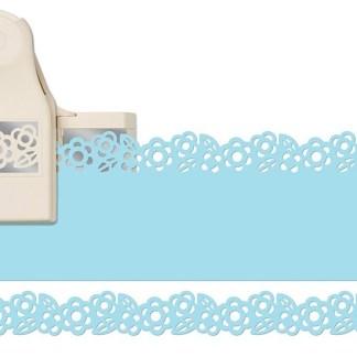 Perforadora Doble Punch de Borde Zinnia, Martha Stewart