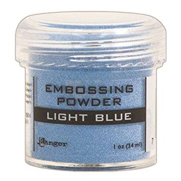 Light Blue Emboss Powder Ranger