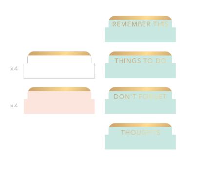 Separadores Memory Planners Heidi Swapp