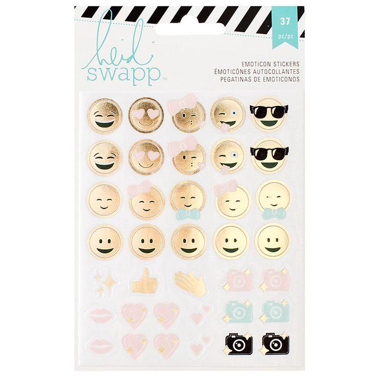 Emoticons Memory Planner Heidi Swapp