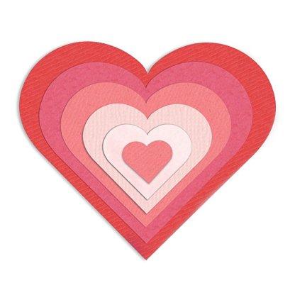 Framelits Hearts, Sizzix