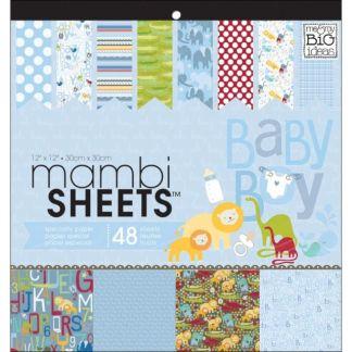 Pack de Papeles Baby Boy, Mambi Sheets