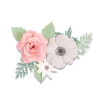 Thintlis Flowers Corsage, Sizzix