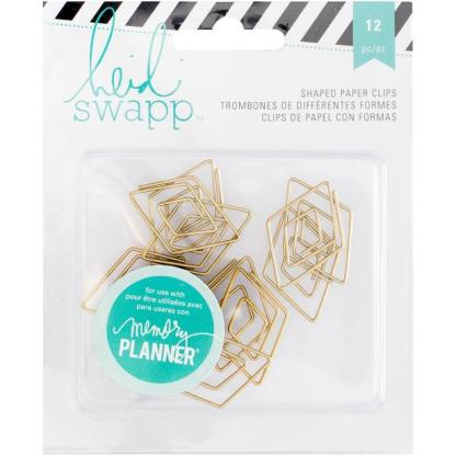 MEMORY PLANNER GOLD DIAMOND PAPER CLIPS