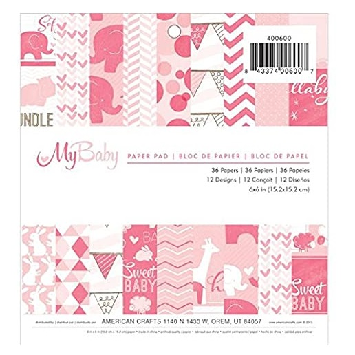 My Baby Paper Pad, American Craft