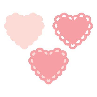 Martha Stewart Layering Punch-Deco Heart