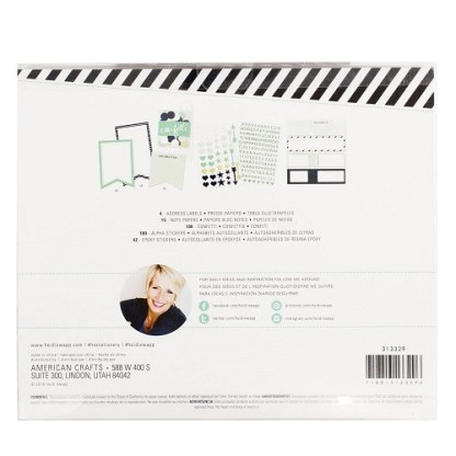 Heidi SWAPP Papelería embellecerla Kit – Menta
