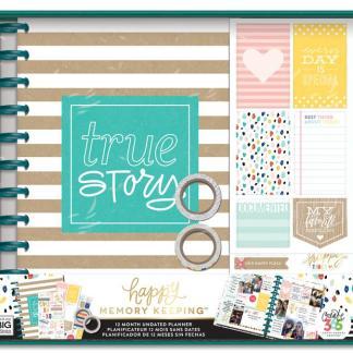 "Kit 12 meses Happy Planner , ""True Story"", Me & My Big Ideas"