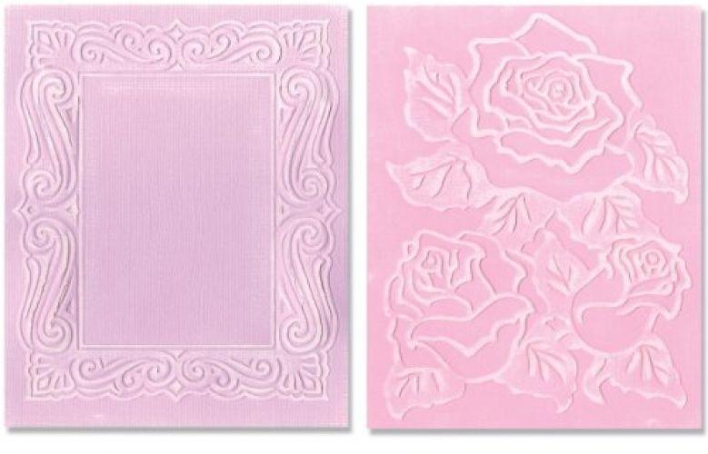 Embossing Folder Pack Sizzix Roses
